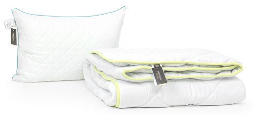 Акция на Набор с шелковым волокном MirSon Eco Зима №3453 Одеяло 155х215 + подушка 50x70 упругая (2200002324908) от Rozetka