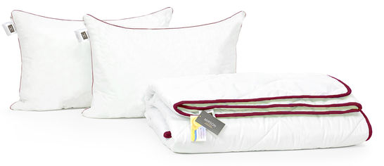 Акция на Набор с шелковым волокном MirSon Деми deluxe №3533 Одеяло 200х220 + 2 подушки 50x70 средние (2200002322416) от Rozetka