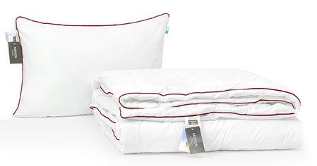 Акция на Набор с шелковым волокном MirSon Деми Deluxe Hand Made №3541 Одеяло 140х205 + подушка 50x70 мягкая (2200002320689) от Rozetka