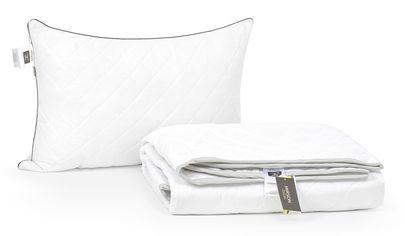 Акция на Набор с шелковым волокном MirSon Лето Royal Pearl №3589 Одеяло 155х215 + подушка 50x70 мягкая (2200002329408) от Rozetka