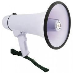 Акция на Громкоговоритель рупорный Megaphone HW 20B микрофон от Allo UA