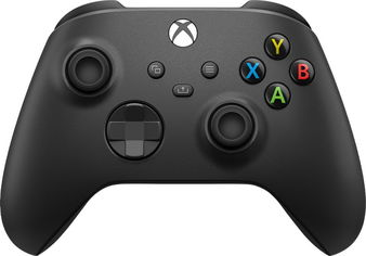 Акция на Microsoft Xbox Series X | S Wireless Controller with Bluetooth (Carbon Black) от Y.UA