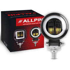 Акция на Дополнительная Led фара Allpin 20 Вт стг дхо круглая (9177ST20) от Allo UA