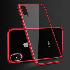 Акция на Бампер от Luphie для iPhone X/Xs (5555-red-i10s) от Allo UA