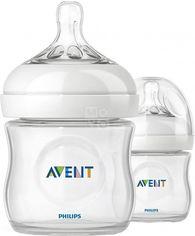 Акция на Бутылочки для кормления Avent NATURAL 125мл (SCF690/27) от MOYO