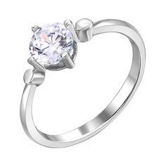 Акция на Серебряное кольцо с цирконием 000116357 17.5 размера от Zlato