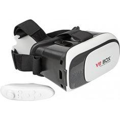 Акция на Очки виртуальной реальности для телефона 3D VR box2 2016 с геймпадом от Allo UA