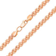 Акция на Золотая цепочка Розамунд в красном цвете 000129277 40 размера от Zlato