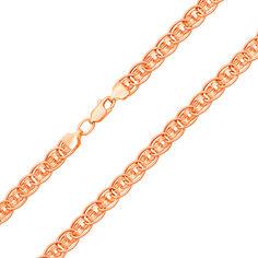 Акция на Цепь из красного золота в плетении нонна-бисмарк 000133856 60 размера от Zlato