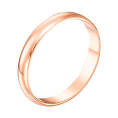 Акция на Кольцо обручальное из красного золота 000012791 16.5 размера от Zlato