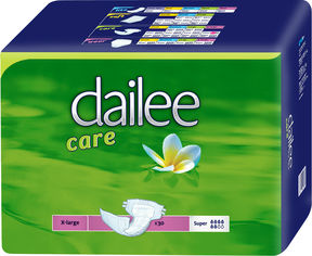 Акция на Подгузники для взрослых дышащие Dailee Саге Super ExtraLarge 30 шт (8595611621864) от Rozetka