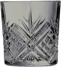 Акция на Набор низких стаканов Luminarc Зальцбург Сиящий Графит 4 шт х 300 мл (P9320/1) от Rozetka