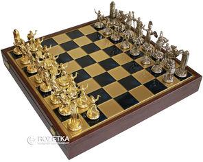 Акция на Шахматы Manopoulos Греческая мифология в деревянном футляре 54х54 см Синие (SK19BLU) от Rozetka
