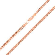 Акция на Золотая цепочка в красном цвете с алмазной гранью, 2,75 мм 000117335 60 размера от Zlato