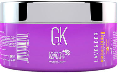 Акция на Маска GKhair Lavender Bombshell Masque для окрашивания в лавандовые оттенки 200 мл (815401016464) от Rozetka