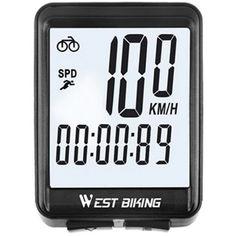 Акция на Велокомпьютер беспроводной West Biking 0702054 от Allo UA