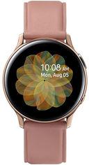 Акция на Samsung Galaxy Watch Active 2 44mm Gold Stainless steel (SM-R820NSDASEK) от Y.UA