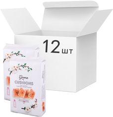Акция на Упаковка слоеного печенья Грона Подушечки с начинкой вкуса абрикосов 328 г х 12 шт (4820156632964) от Rozetka