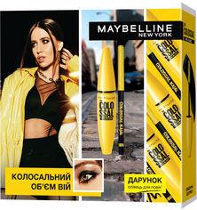 Акция на Подарочный набор Maybelline New York The Colossal 100% Black (5902503384159) от Rozetka