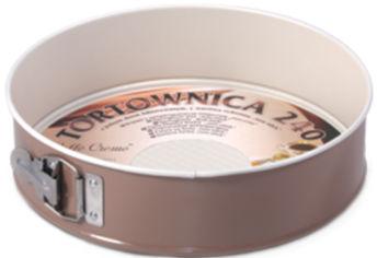 Акция на Форма для выпечки тортов SNB Caffe Creme антипригарная с гофрированным дном 24 см (SNB-99023/7) от Rozetka