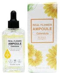 Акция на Успокаивающая сыворотка для лица с календулой May Island Real Flower Ampoule Calendula 100 мл (8809515400495) от Rozetka