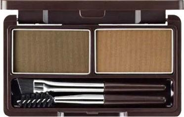 Акция на Тени для бровей The Saem Eco Soul Eyebrow Kit 01 Natural Brown 5 г (8806164117484) от Rozetka