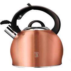Акция на Чайник BERLINGER HAUS Metallic Line ROSE GOLD Edition 3 л (BH-1075) от Foxtrot