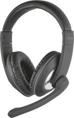 Акция на Навушники Trust Reno Headset Black (21662) от Територія твоєї техніки