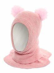 Акция на Зимняя шапка-шлем Elf-kids Лукреция 50 см Пудра (ROZ6400026444) от Rozetka