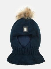 Акция на Зимняя шапка-шлем Elf-kids Чикаго 50 см Темно-синяя (ROZ6400026700) от Rozetka