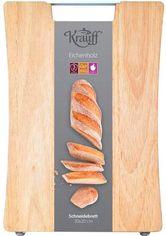 Акция на Доска разделочная Krauff деревянная 40 х 30 х 2 см (26-300-003) от Rozetka