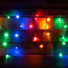 Акция на Светодиодная гирлянда YES! Fun LED уличная 80 ламп (5056137165810) (801168) от Rozetka