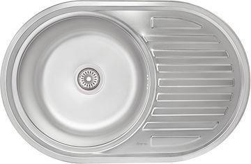 Акция на Кухонная мойка IMPERIAL 7750 Decor IMP775008DEC от Rozetka