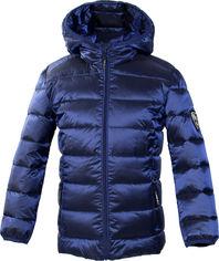 Акция на Демисезонная куртка-пуховик Huppa Stevo 2 17990227-90035 134 см Синяя (4741468885018) от Rozetka