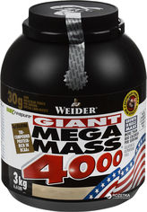 Акция на Гейнер Weider Mega Mass 4000 3 кг Ваниль (4044782325353) от Rozetka