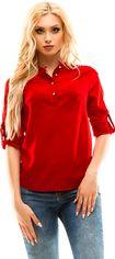 Блузка DEMMA 270 46 Красная (4821000007358) от Rozetka