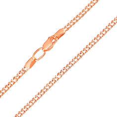 Акция на Золотая цепочка Ремина в комбинированном цвете с алмазной гранью 000003457 40 размера от Zlato