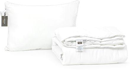 "Акция на Набор из хлопкового волокна MirSon Лето ""Luxury Exclusive"" №3262 одеяло 155x215 см + подушка 50x70 см мягкая (2200002286169) от Rozetka"