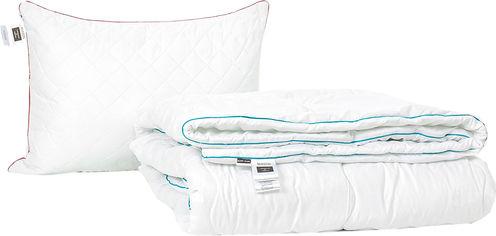 Акция на Набор антиаллергенный MirSon Eco Silk Деми Eco Hand Made Silver №4018 одеяло 140х205 + подушка 50х70 средняя (2200001813595) от Rozetka