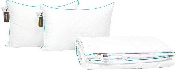 Акция на Набор антиаллергенный MirSon Eco Silk Лето Eco Hand Made Aloe Vera №4013 одеяло 172х205 + 2 подушки 50х70 средние (2200001813168) от Rozetka