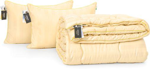 "Акция на Набор с шерстяным волокном Mirson Зима ""Carmela Hand Made"" №3793 одеяло 172x205 см + 2 подушки 50х70 см мягкие (2200002349000) от Rozetka"