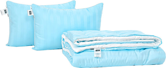 Акция на Набор антиаллергенный MirSon Eco Silk Деми Valentino Hand Made №4093 одеяло 220х240 + 2 подушки 50х70 мягкие (2200001815278) от Rozetka