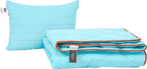 Акция на Набор антиаллергенный MirSon Eco Silk Зима Valentino №4133 одеяло 155х215 + подушка 50х70 средняя (2200001819368) от Rozetka
