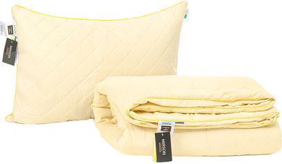 Акция на Набор антиаллергенный MirSon Eco Silk Лето Carmela №4135 одеяло 140х205 + подушка 50х70 мягкая (2200001811218) от Rozetka