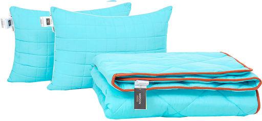 Акция на Набор антиаллергенный MirSon Eco Silk Деми Valentino №4129 одеяло 220х240 + 2 подушки 50х70 мягкие (2200001815513) от Rozetka
