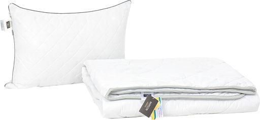 Акция на Набор антиаллергенный MirSon Eco Silk Деми Royal Pearl №4148 одеяло 155х215 + подушка 50х70 средняя (2200001816121) от Rozetka