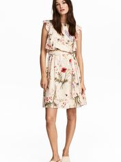 Акция на Платье для кормящих H&M 5203685RP12 L Кремовое (PS2030000037933) от Rozetka