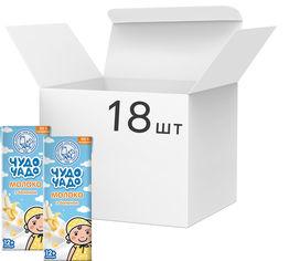 Акция на Упаковка молочного коктейля Чудо-Чадо Молоко с бананом 0.2 л х 18 шт (4820016253988) от Rozetka