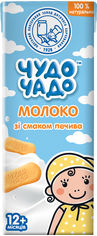 Акция на Упаковка молочного коктейля Чудо-Чадо Молоко со вкусом печенья 0.2 л х 18 шт (4820016254008) от Rozetka