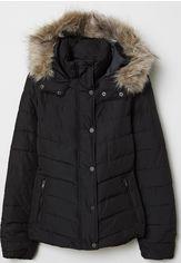 Акция на Куртка H&M 6347278-AAAD 36 Черная (DU3000001586982_2000001273579) от Rozetka